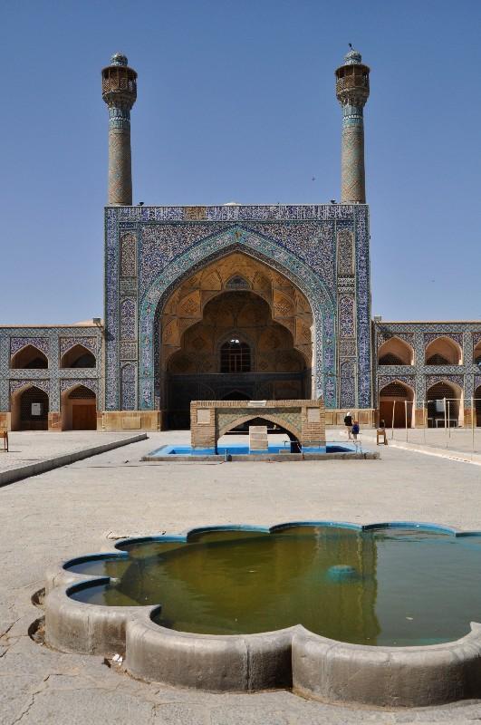 09.Esfahan - Piatková mešita