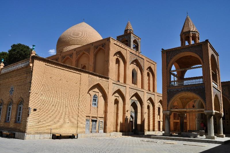 11.Esfahan - katedrála Vank v arménskej štvrti