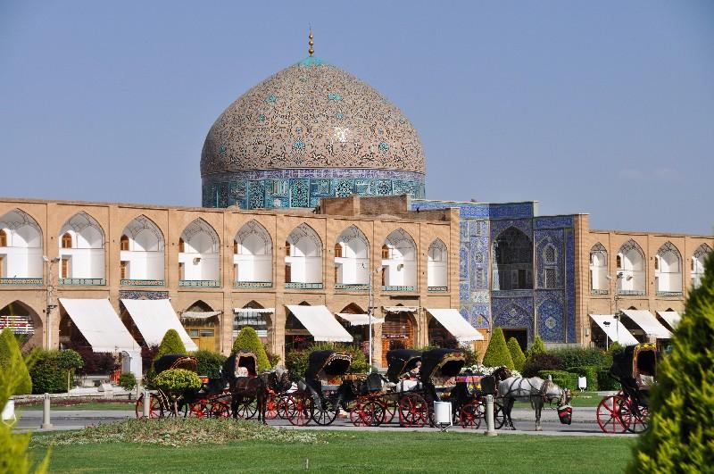 12.Esfahan - rozprávková mešita šejka Loftolláha
