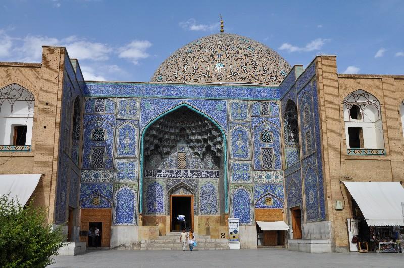 13.Esfahan - najkrajšia mešita Iránu, mešita šejka Loftolláha