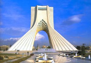 Pamätník Azadi - Teherán, tehran.ir