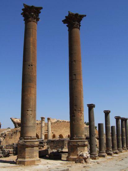 Bosra, ruiny plné príbehov