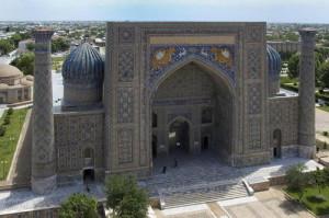 Levia brána Samarkand, unesco.org